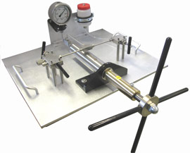 HiP manual pumps are an excellent method for proof testing of high pressure gauges, hose and other components